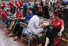 Chương trình Hành trình đỏ tại Bắc Kạn thu được hơn 700 đơn vị máu