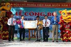 Ninh Thuận công nhận xã đặc biệt khó khăn vùng bãi ngang ven biển đạt chuẩn nông thôn mới