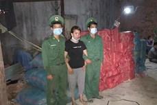 Bắt giữ hơn 1,3 tấn pháo lậu ở huyện Ngọc Hồi