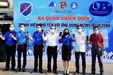 Dịch COVID-19: Phú Yên hỗ trợ người dân cài đặt ứng dụng Bluezone và NCOVI