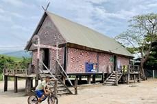 Độc đáo những mái nhà rông truyền thống ở huyện Kông Chro
