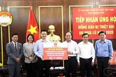 Quảng Nam tiếp nhận hơn 21 tỷ đồng hỗ trợ người dân bị thiệt hại do mưa bão
