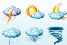 Thời tiết ngày 20/12/2020: Khu vực giữa và Nam Biển Đông có mưa dông kèm lốc xoáy và gió giật mạnh