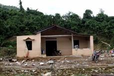 Đồng bào vùng sạt lở núi tỉnh Quảng Nam có nhà ở mới trước Tết Nguyên đán Tân Sửu