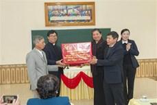 Phó Chủ tịch Thường trực Quốc hội Tòng Thị Phóng thăm tặng quà người dân Giáo xứ Đại Từ, Thái Nguyên