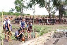 Lễ cúng Giọt nước - nét đẹp văn hóa của người Jrai ở Tây Nguyên