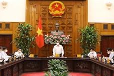 Kết luận của Thủ tướng Chính phủ tại cuộc họp Thường trực Chính phủ về công tác phòng, chống dịch COVID-19