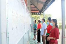 Tưng bừng Ngày Bầu cử ở vùng cao Sơn La