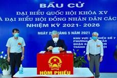 Nhiều đồng chí lãnh đạo Đảng, Nhà nước bỏ phiếu bầu cử tại Thủ đô Hà Nội