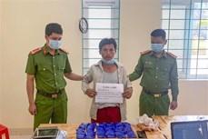 Điện Biên bắt giữ đối tượng Vàng A Dơ mua bán trái phép ma túy tổng hợp