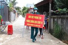 Dịch COVID-19: Cụm dân cư thuộc tổ dân phố số 5, thành phố Điện Biên Phủ được dỡ bỏ phong tỏa