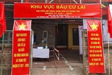 Hoàn tất công tác chuẩn bị bầu cử lại ở xã Tráng Việt, Mê Linh (Hà Nội)
