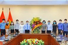 Phó Chủ tịch Quốc hội Nguyễn Khắc Định chúc mừng TTXVN nhân Ngày Báo chí Cách mạng Việt Nam