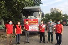 Hội Nông dân Tuyên Quang tặng nông sản cho Hà Nội chống dịch COVID-19