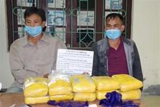 Điện Biên bắt quả tang hai đối tượng mua bán 60.000 viên ma tuý tổng hợp