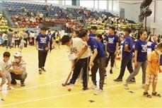 Thành phố Hồ Chí Minh: 350 trẻ rối loạn tự kỷ tham gia Ngày hội thể thao và tri ân thầy cô giáo
