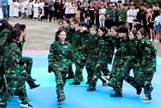"""Tưng bừng Liên hoan nhóm nhảy Thành phố Hồ Chí Minh """"Sức bật tuổi trẻ"""""""