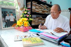 Nhà giáo của phum sóc Khmer Nam Bộ