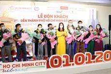 Du lịch Việt Nam: Thành phố Hồ Chí Minh chào đón những du khách đầu tiên năm 2021