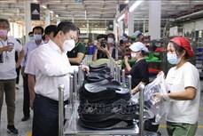 Thành phố Hồ Chí Minh: Kiểm tra công tác phòng, chống dịch COVID-19 tại Công ty trách nhiệm hữu hạn Pouyuen Việt Nam