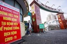 Bệnh viện Bệnh Nhiệt đới Thành phố Hồ Chí Minh khoanh vùng cắt đứt chuỗi lây nhiễm