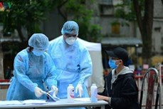 4月10日上午越南无新增新冠肺炎确诊病例