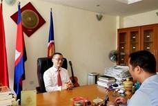 越南驻柬埔寨大使武光明:越南并不肯定第315例新冠病例在柬埔寨感染