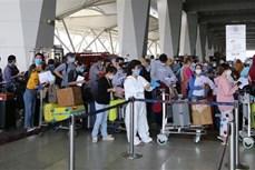越南将340名在印度的公民安全运送回国