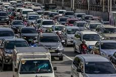 新冠肺炎疫情:菲律宾首都马尼拉数百万人重返工作岗位