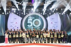 越南天然气股份总公司再次列入越南最佳上市公司50强名单