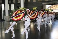 武昴同志遗体告别仪式和追悼会在河内隆重举行