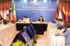 越南主持召开东盟文化社会共同体高级官员视频会议