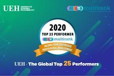 胡志明市经济大学在知识转换方面跻身世界前25名
