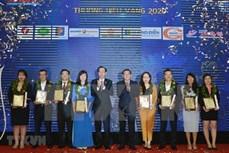 胡志明市30家企业荣获2020年最受欢迎的越南品牌奖