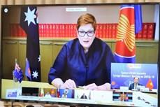 2020东盟轮值主席国年:东盟-澳大利亚部长级会议强调了新冠肺炎疫情防控合作