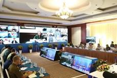 东盟防务高官扩大会议工作组召开视频会议