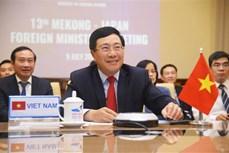 越南在第13届湄公河-日本部长级会议提出多项有效措施