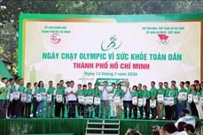 超过3万人参加胡志明市全民健康奥林匹克跑步日活动