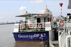 胡志明市开通首条水上旅游线路