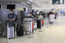 新冠肺炎疫情:350名在澳越南公民安全回国