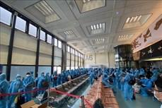 新冠肺炎疫情:把在中国台湾的300多名越南公民接回国