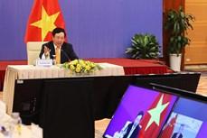 越中双边合作指导委员会第十二次会议以视频形式召开