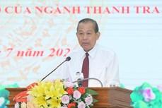 张和平:坚决清除一切腐败分子 从严从实强化自我监督
