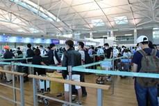 新冠肺炎疫情:将在韩国的310名越南公民接回国