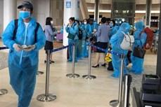 新冠肺炎疫情:将在日本滞留的340名越南公民接回国