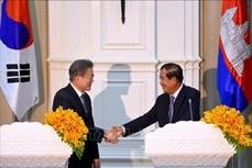 韩国与柬埔寨正式启动自由贸易谈判