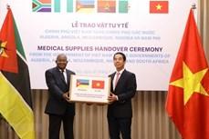 新冠肺炎疫情:越南向非洲国家提供医疗物资援助