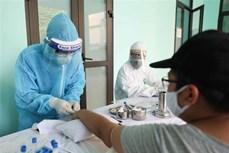 河内市对从7月16日之后从岘港市回来的人员进行取样检测