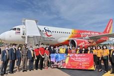 越捷航空公司曼谷-孔敬航线开通 自8月1日推出5泰铢起的特价机票