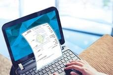9月底河内企业必须采用电子发票
